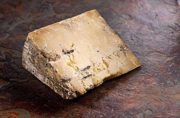 Dunbarton Blue, a blue-veined cheddar, takes off